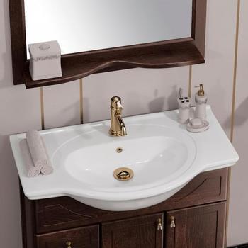Мебель для ванной Клио 75 Орех антикварный Opadiris-13296