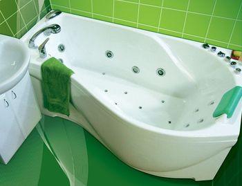 Акриловая ванна Triton  Мишель 1700 (левая)-10870
