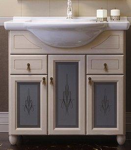Мебель для ванной Тибет 75 Слоновая кость Opadiris-13135