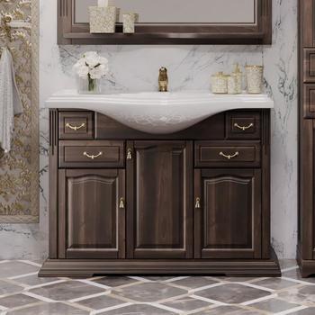 Мебель для ванной Риспекто 105 Орех антикварный Opadiris-13217