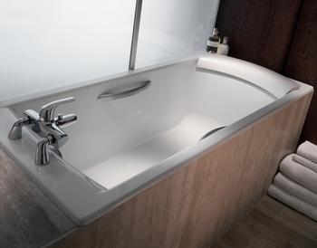 E6710-00 Подголовник для ванн Jacob Delafon Biove, Ove (белый)-18037