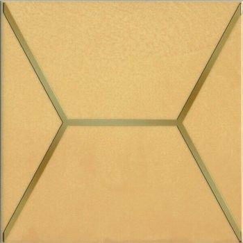 Декор Витраж желтый-12852
