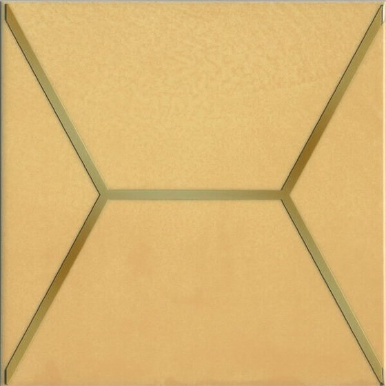 Декор Витраж желтый - главное фото