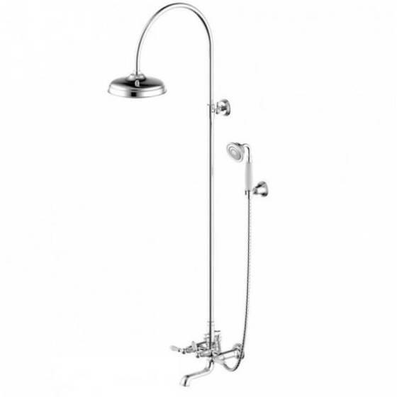 Душевая колонна со смесителем для ванны  F65193CP-A2-RUS  ART  - главное фото