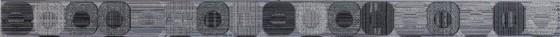 Listelo Pixel Grey бордюр 4,5*60,5  - главное фото
