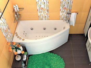 Акриловая ванна Triton Бэлла (левая)-10668