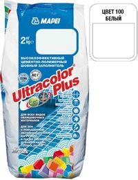 Затирка Ultracolor Plus №100 (белый) 2 кг.