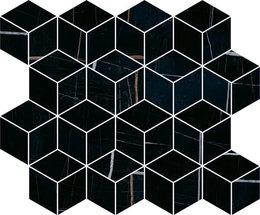 Декор Греппи черный мозаичный