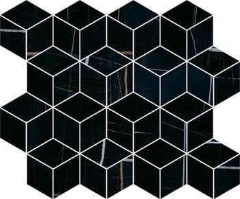 Декор Греппи черный мозаичный-16801