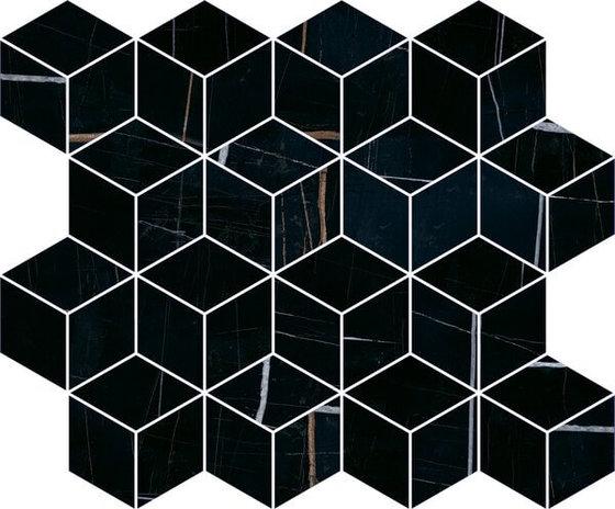 Декор Греппи черный мозаичный - главное фото