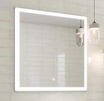 Панель с зеркалом (LED) 80x80см-15230