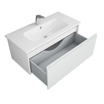 Тумба Malaren 100, 1 ящик, белая OW03.04.05-17619