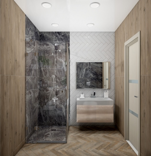 Дизайн-проект «Wood&Stone»