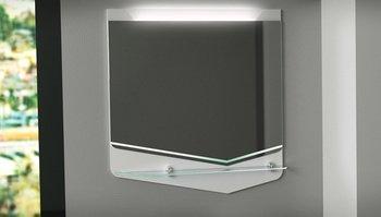 Зеркало CRYSTAL CUB 70, белый-15031
