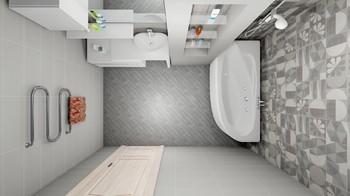 Дизайн-проект «Минимализм и простор»-17392