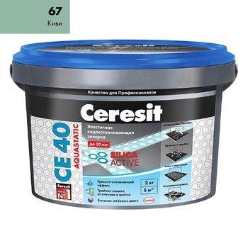 Затирка Ceresit СЕ 40 Aquastatic киви 2 кг-9699