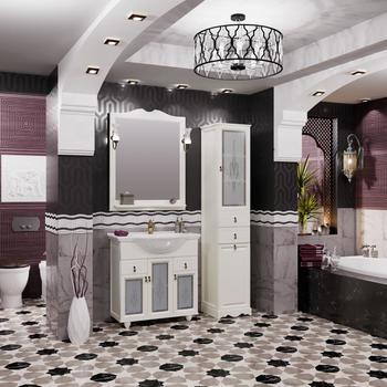 Мебель для ванной Тибет 75 Слоновая кость Opadiris-13133