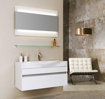 Зеркало с интегрированным светильником  Л10 Бергамо-13682