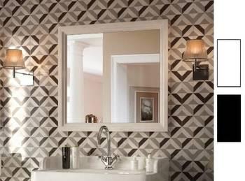 Зеркало POMPEI 80 см, белое-13841