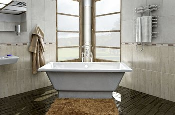 Ванна SUMATRA 1697×740×620 мм -11302