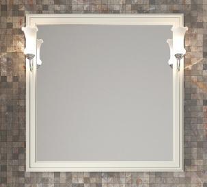 Мебель для ванной Санрайз 90 правый Слоновая кость Opadiris-13282