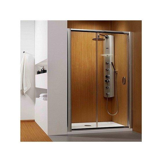 Душевая дверь Premium Plus DWJ 130*190 хром/прозр 33333-01-01N - главное фото