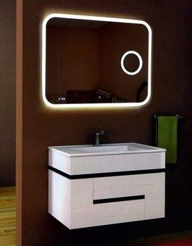 Зеркало Bliss Led 1000*700  с увеличительным зеркалом,часами и подогревом Calypso-11404