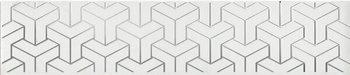 Бордюр Ломбардиа белый-12636