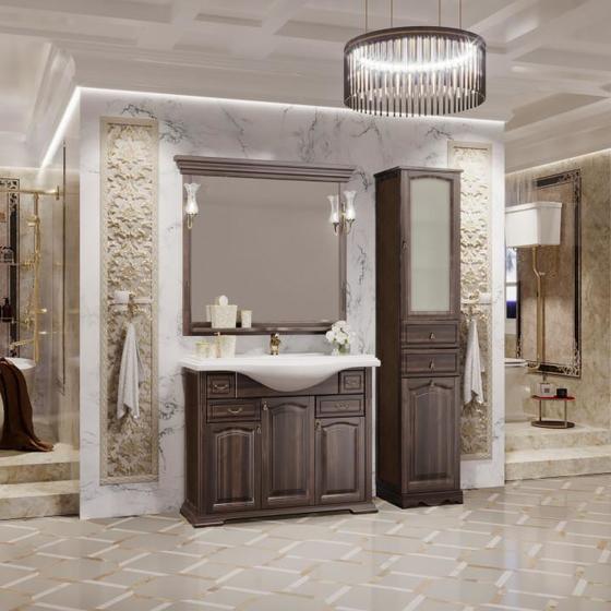 Мебель для ванной Риспекто 105 Орех антикварный Opadiris - главное фото