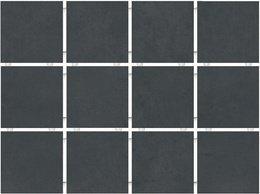 Амальфи черный, полотно 30х40 из 12 частей 9,9х9,9