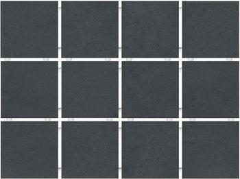 Амальфи черный, полотно 30х40 из 12 частей 9,9х9,9-7167