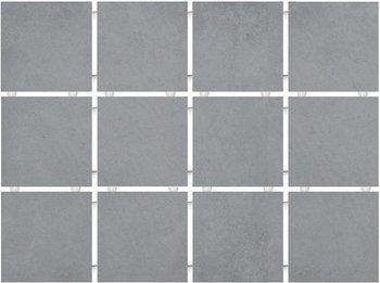 Амальфи серый, полотно 30х40 из 12 частей 9,9х9,9-6623