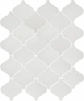 Арабески глянцевый белый-4594