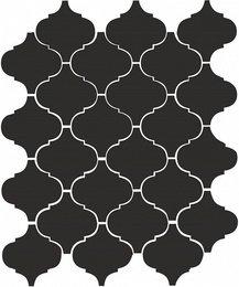 Арабески глянцевый черный