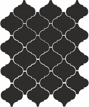 Арабески глянцевый черный-4593