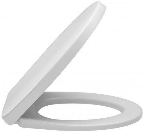 E70021-00 крышка/сиденье NEW PATIO микролифт (бел) JD - главное фото
