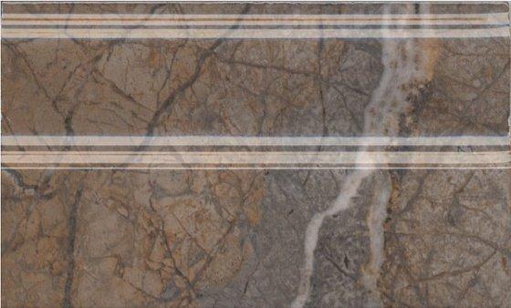 Плинтус Театро коричневый обрезной - главное фото