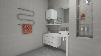 Дизайн-проект «Минимализм и простор»-17390