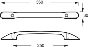 E75114-CP Комплект ручек для ванн Jacob Delafon Melanie/Diapason-18027