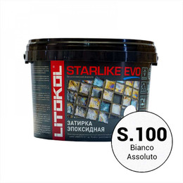Эпоксидная затирка STARLIKE EVO bianco assoluto (S.100) 2,5 кг
