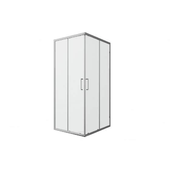 Душевое ограждение LINE (без поддона)  900x900x2000, две раздвижные двери - главное фото
