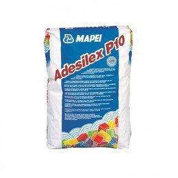 Mapei ADESILEX P10 - белый клей для мозаичных витражей, плитки и мрамора 25 кг