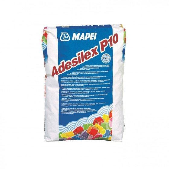 Mapei ADESILEX P10 - белый клей для мозаичных витражей, плитки и мрамора 25 кг - главное фото
