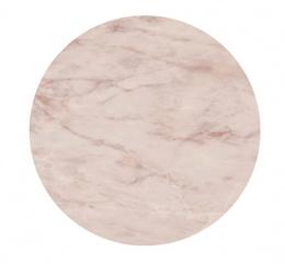 Спец. изделие декоративное 43,1x43,1 CONO Onice розовый (круг.полка) керамическое