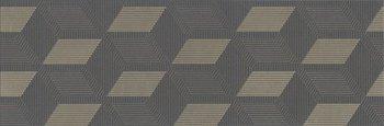 Декор Морандо серый темный обрезной-12846