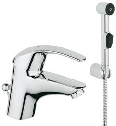Смеситель GROHE Eurosmart для раковины с гигиеническим душем