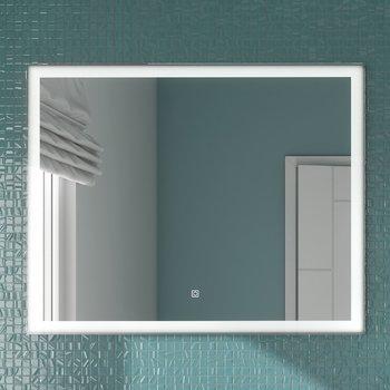 Панель с зеркалом (LED) 100х80-13580
