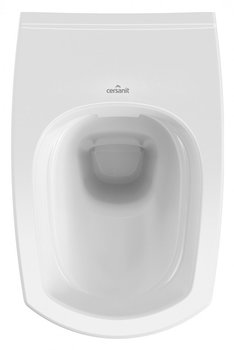 Унитаз подвесной Carina New Clean On с кр.дюропл. slim lift., белый-11432