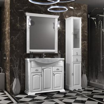 Мебель для ванной Риспекто 95 Белый матовый Opadiris-13159