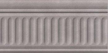 Бордюр Александрия серый структурированный-6088
